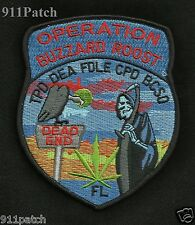 OPERATION BUZZARD ROOST - TPD DEA FDLE CPD BCSO Florida POLICE Patch