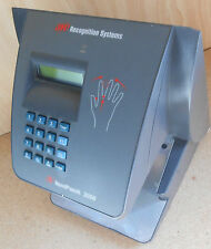 NEW HAND PUNCH 3000 BIOMETRIC TIME CLOCK w/ BACKUP BATT 1 Year Warranty