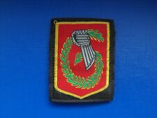N°113 insigne militaire armée écusson patch badge régiment french army soldat