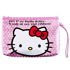 ESTUCHE O NECESER HELLO KITTY MAKEUP BAG OR PENCIL CASE A1383