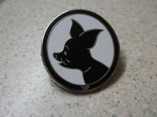 Silhouette Disney's Pigglet From Winnie The Pooh Pin  Badge