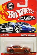 HOT WHEELS CLASSICS MODERN CLASSICS #15/15 CAMARO CONCEPT ORANGE