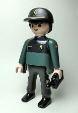 PLAYMOBIL ☆ CUSTOM SERIE POLICIA ☆ AGENTE GUARDIA CIVIL SEGURIDAD CIUDADANA