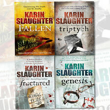 Karin Slaughter Collection Will Trent Atlanta Series 4 Books Set Pack, Brand New