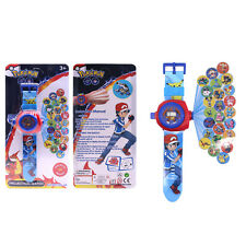 Pokemon 3D Digital Projection Watch 24 Monsters Patterns Kids Toys Gifts Xmas
