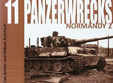 Panzerwrecks 11 chars épaves descendu chars Livre recueil images réservoirs