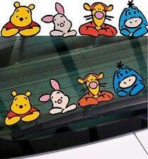 WINNIE THE POOH & FRIENDS - WALL CAR DECAL STICKER ADHESIVE - TIGGER  295 x 70mm