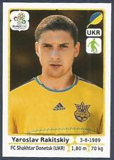 PANINI EURO 2012- #407-UKRAJINA-UKRAINE-SHAKHTAR DONNETSK-YAROSLAV RAKITSKIY