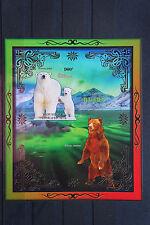 Bären 18 bears Eisbär Grizzly Tiere animals wildlife Fauna postfrisch ** MNH
