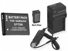 Battery + Charger for Samsung EC-SL50ZZBPRUS ECSL50ZZBPRUS