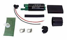 AEM 50-1200 HIGH FLOW Ethanol E85 1000HP FUEL PUMP 320 LPH Universal Install Kit