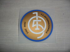 INTER PATCH 105 anni ANNIVERSARIO ULTRA CENTENARIO CENTENARY BADGE 2013