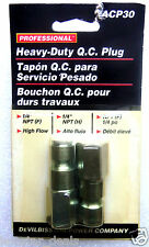 "Devilbiss Air Power Company Professional Heavy Duty1/4"" NPT (F) Q.C. Plug"