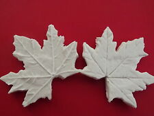 Double Maple Leaf Veiner sugarcraft mould cake decorating food grade