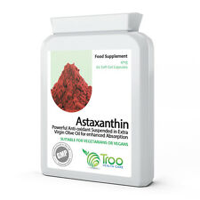 Astaxanthin 4mg 60 Capsules - Natural New Zealand Sourced Health Supplement