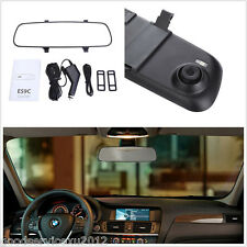 "2.4"" LCD HD Car SUV Interior Dashboard Rearview Mirror Camera Video Recorder DVR"