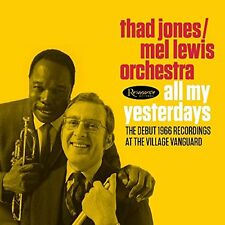 THAD JONES - MEL LEWIS ORCHESTRA-ALL MY YESTERDAYS-JAPAN 2 CD H75 zd
