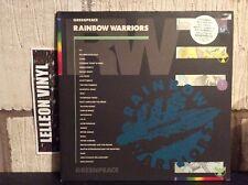 Greenpeace Rainbow Warriors Double LP Album Vinyl Record PL74065 Pop Rock 80's