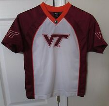 NCAA Virginia Tech Hokies Youth Shirt Large (14-16) by Starter EUC