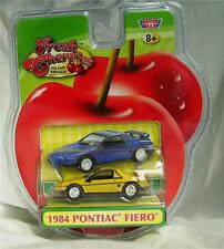 1984 Pontiac Fiero 1/64 scale die-cast from Fresh Cherries by Motormax