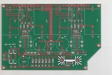 MOSFET single stage pre-amplifer ZEN PCB