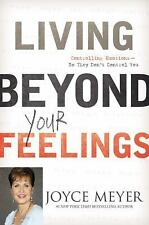 JOYCE MEYER LIVING BEYOND YOUR FEELINGS CONTROL YOUR EMOTIONS HCBK NICE!!