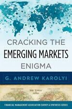 Cracking the Emerging Markets Enigma G. Andrew Karolyi 2015 Hardcover Unread New