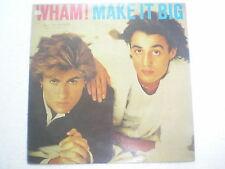 WHAM MAKE IT BIG CBS RARE LP record vinyl INDIA INDIAN 276 NM