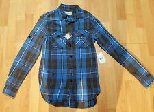 Denim and Supply Ralph Lauren Button Down Plaid Shirt Size Extra small BNWT