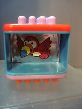 Fisher Price Peek A Blocks  BIRD BLOCK   Replacement Block