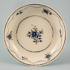 18th century Chinese export Porcelain saucer, blue enamel decoration. c1780
