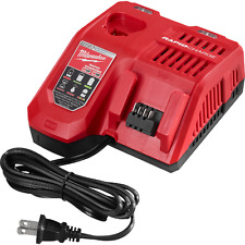 Milwaukee 48-59-1808 M18 and M12 Rapid Battery Charger Dual Voltage Brand New