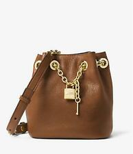 Michael Kors Hadley Medium Messenger CrossBody Brown NWT