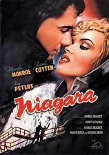 NIAGARA Movie POSTER 27x40 G Marilyn Monroe Joseph Cotten Jean Peters Max