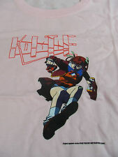 NEW ANIME PINK KITE SAWA JUMP LARGE LADIES CUT ADULT T-SHIRT