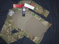 MASSIF GEAR MULTICAM SHIRT COMBAT S SMALL NEW TAGS MADE USA MILITARY ISSUE ACU w
