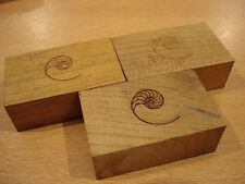 Cardas Golden Cuboids Myrtle Wood Blocks Set of 6 Small