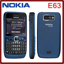 BBRAND NEW NOKIA E63 UNLOCK TO ALL NETWORKS UNTRA BLUE COLOUR