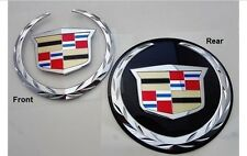 Cadillac ESCALADE FRONT & REAR Emblems !  WITHOUT GRILLE PLATE !