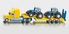 1805 FARMER SIKU Truck / Low Loader / 2 New Holland T7070 Tractors 1:87 Diecast