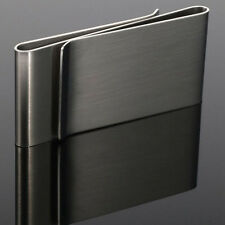 NEW Money Clip Card Holder Unisex Double Sided Holder Wallets Stainless Steel