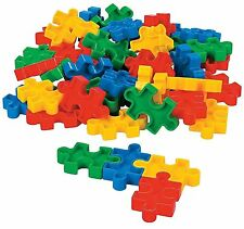 25 pc Puzzle Shaped Block Set in tote bag sensory fidget occupational therapy