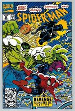 Spider-Man #22 (May 1992, Marvel) (C6281) Deathlok Hulk Ghost Rider Sinister Six