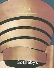 Sotheby's //  Limited Edition Prints Auction Catalog 2008