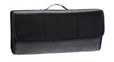 Car Grey Carpet Boot Storage Bag Organiser Tools Breakdown Travel Tidy Large