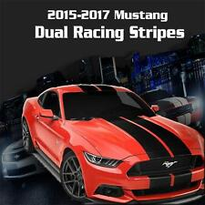 2015 2016 2017 Ford Mustang Dual Racing Rally Stripes Vinyl Decal Sticker GT 5.0