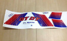 Yamaha Enduro DT125 Sticker Decal Tank NEW