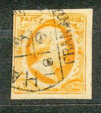 Nederland    3 gebruikt (2) met deel van stempel  HAARLEM  C