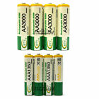 50 AA 3000mAh + 50 AAA 1350mAh 1.2V NI-MH Rechargeable Battery 2A 3A BTY Green
