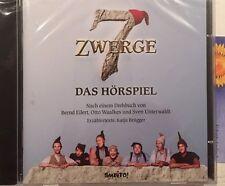 Audio CD Hörbuch Hörspiel 7 Sieben Zwerge Der Wald ist nicht genug Kinofilm NEU